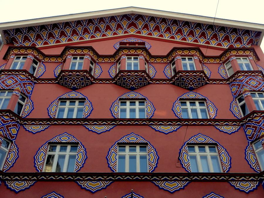 Cooperative Business Bank building Ljubljana
