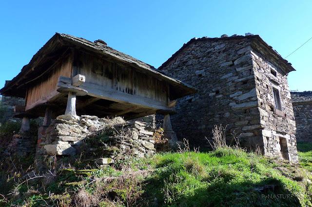 Pueblo de San Cristobal - Ruta del Silencio - Asturias