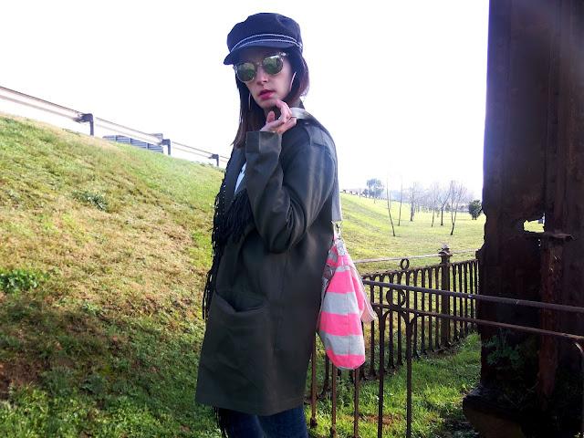 fashion, moda, look, outfit, blog, blogger, walking, penny, lane, streetstyle, style, estilo, trendy, rock, boho, chic, cool, casual, ropa, cloth, garment, inspiration, fashionblogger, art, photo, photograph, Avilés, oviedo, gijón, asturias, christmas, zara, asos, parka, stripes, rayas