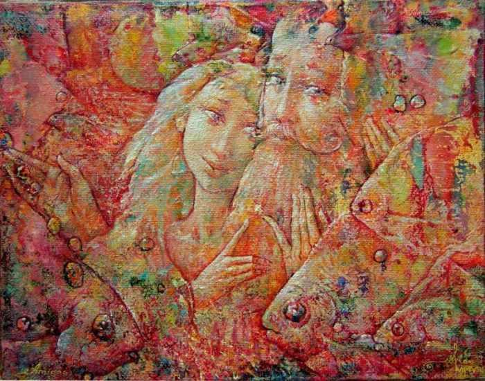 Украинский художник. Valeriy Kot