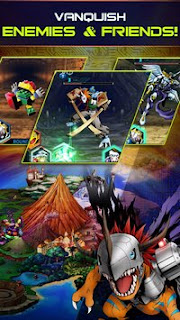 Game Digimon Heroes v1.0.45 Apk Mod + Data OBB Update terbaru Gratis -2