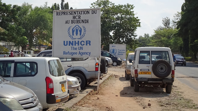 Huge UNHCR building in Bujumbura