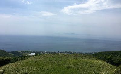 海峡展望台から見る津軽海峡