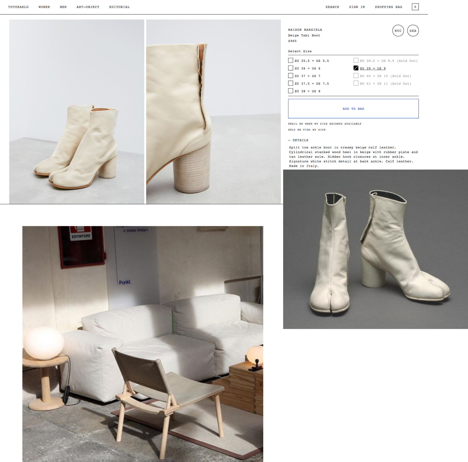 04704f82b13 Gold Russsh: The Margiela Tabi Boot