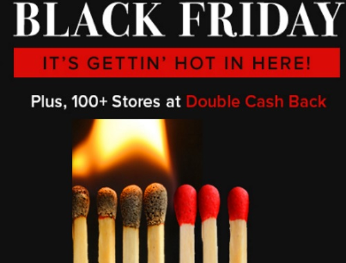 Ebates Earn Cashback on Black Friday Shopping