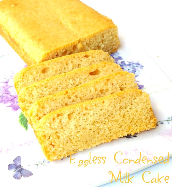 Condensed Milk Cake Recipe Easy
