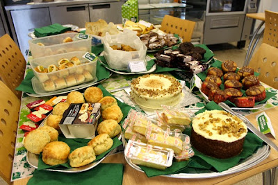 Macmillan coffee morning at PKL