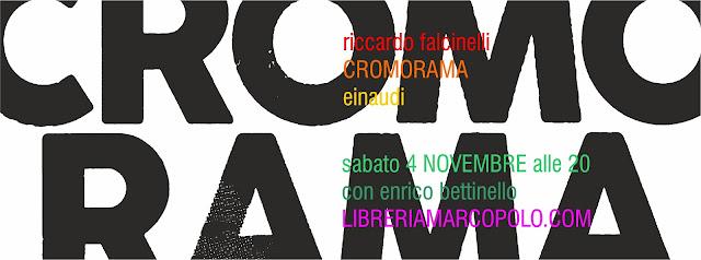 Cromorama alla MarcoPolo - sabato 4 novembre