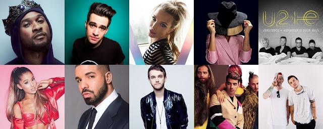 Lista de performers para el iHeartRadio Music Festival Las Vegas 2016