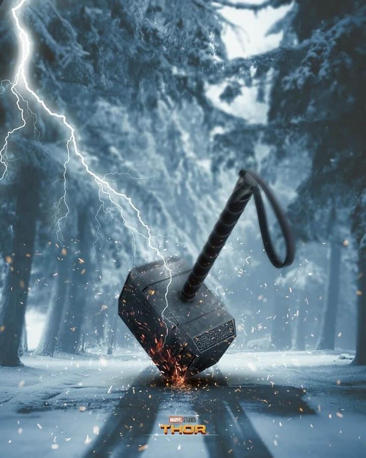 04-Mjolnir-Hammer-Thor-Septian-Bayu-Abdullah-Surrealism-www-designstack-co