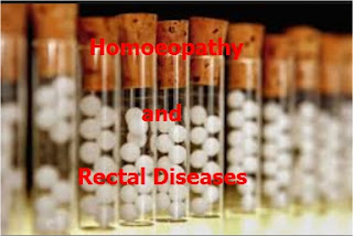Homeopathy and Rectal diseases