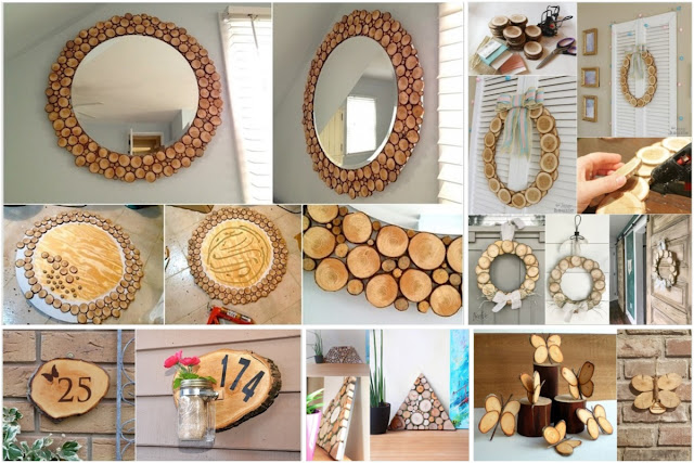 10 Decorating Projects For Using Wood Chips