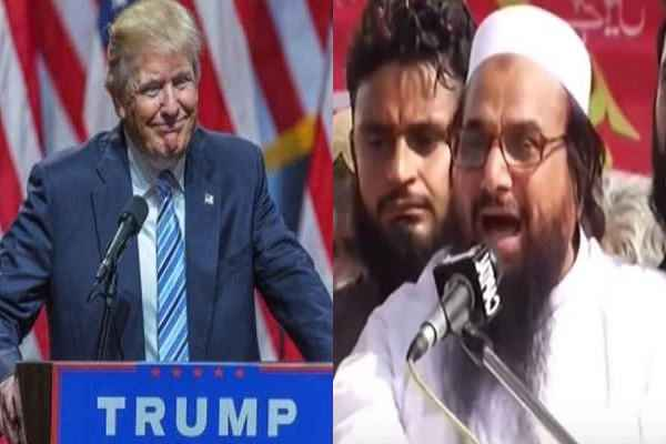 Terrorist Hafiz Saeed told Donald Trump's victory of Racism