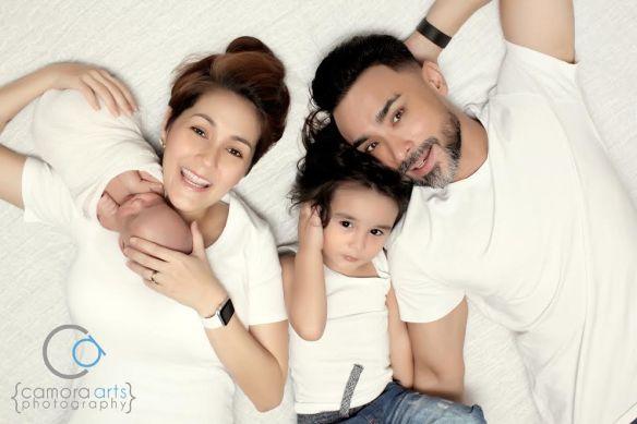 Eissa El Zander Wong Anak Ke-2 Yasmin Hani (6 Gambar)