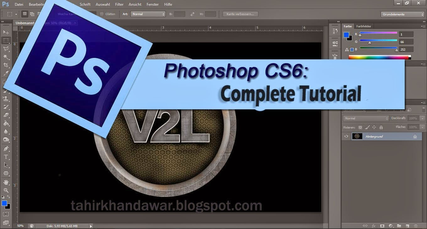Adobe Photoshop Cs6 Full Tutorials in Urdu & Hindi