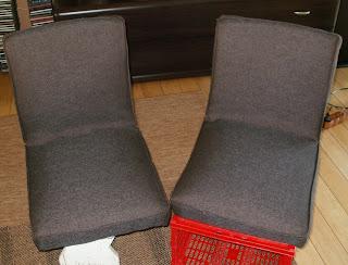 krzesła aga odnawianie krok po kroku