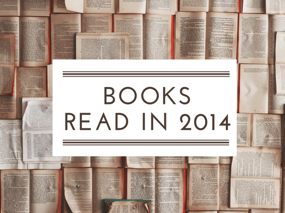 Books read in 2014 and favourites reads of the year