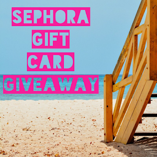 Enter the Sephora Gift Card Giveaway. Ends 8/2