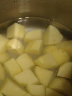 Patatas Ali-Oli, preparación 1