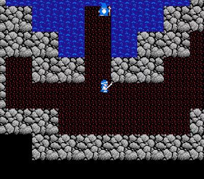 Dragon Warrior II - Bravery fountain