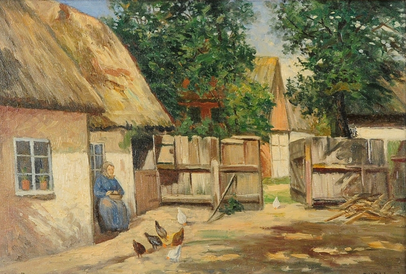 Frans Wilhelm Odelmark 1849-1937 | Swedish painter