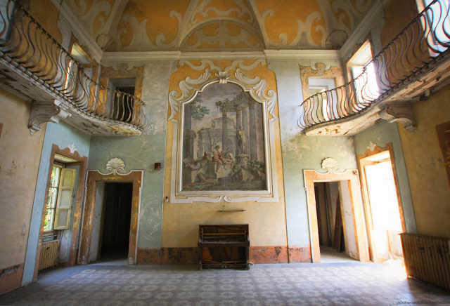 Manicomio abandonado en la Toscana
