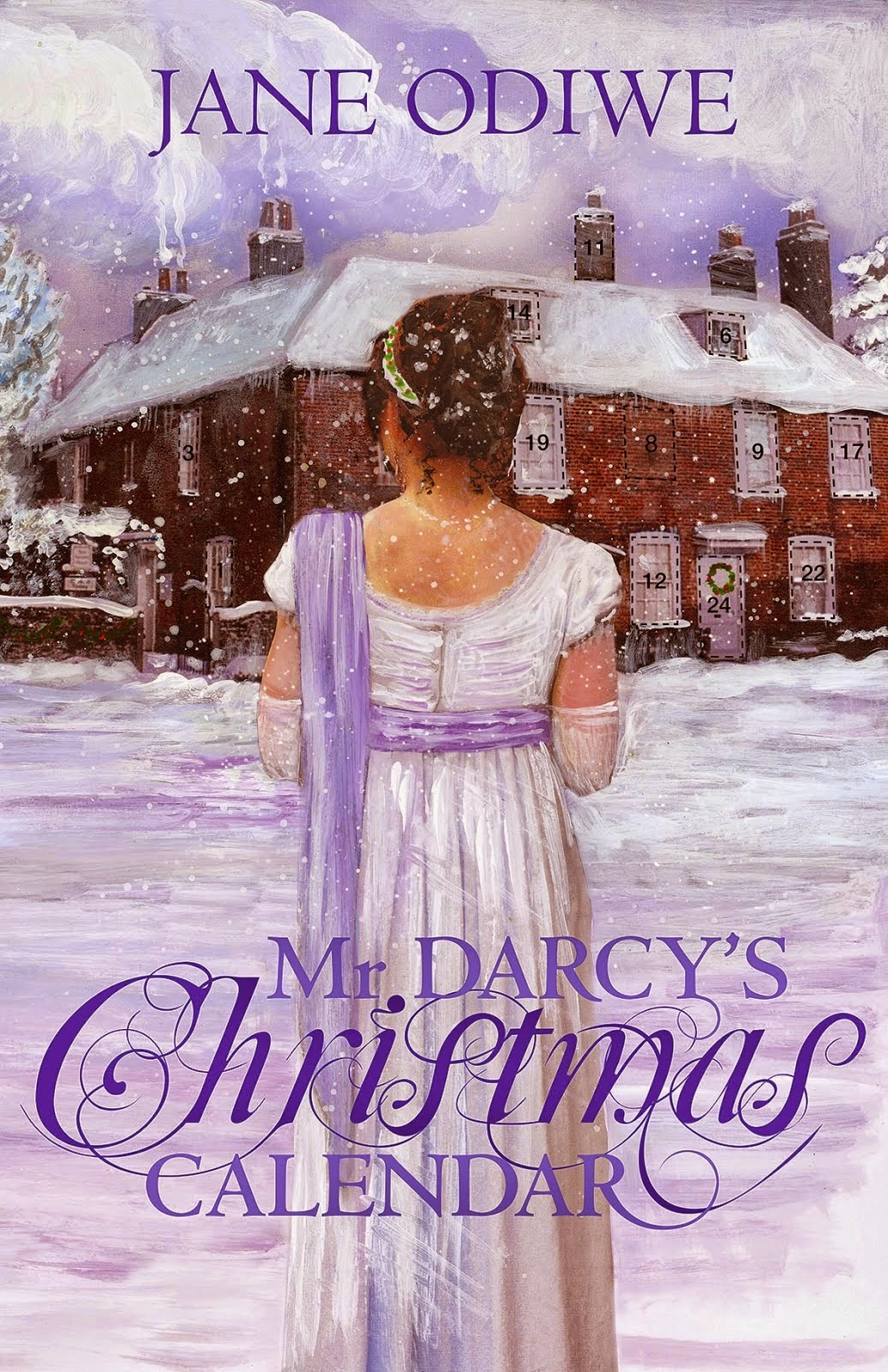 Book Cover - Mr Darcy's Christmas Calendar by Jane Odiwe