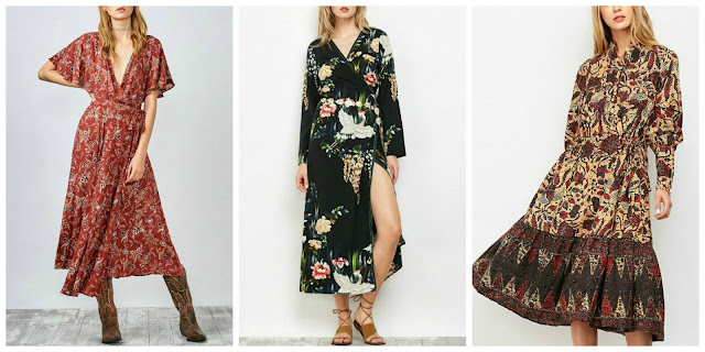 Zaful floral midi dress Summer 2017 Promotion