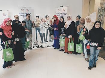 KBBA9 bersama Bahagian Hab Halal, Jakim
