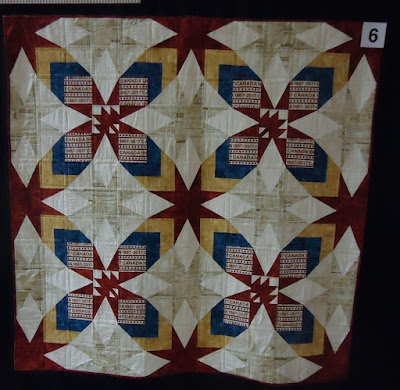 Quilt #6 of the Quilts of Valour Challenge