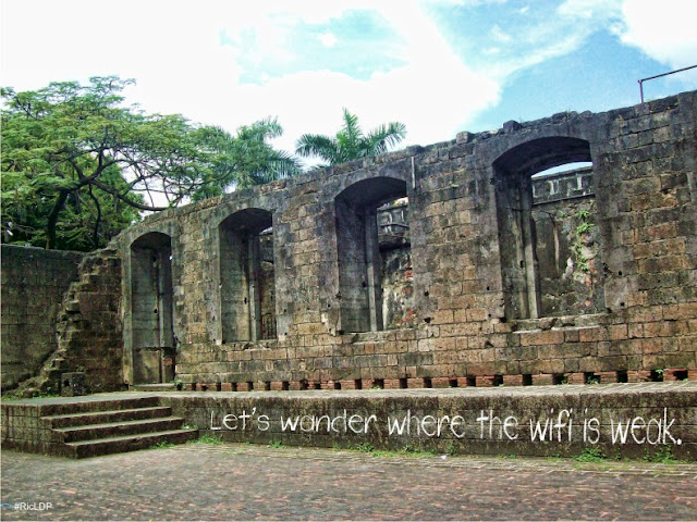 lets wander where the wifi is weak