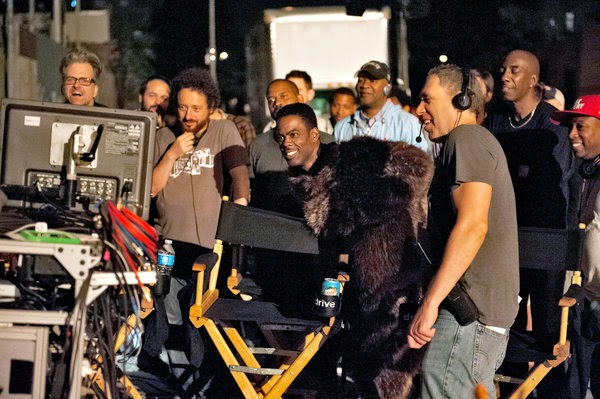 Chris Rock takes up Christopher Walken's comedic advice that 'Bear suits are funny. [Long pause] And bears as well.'