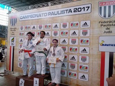Atletas da Associação Cajatiense de Judô conquista 2 medalhas de ouro no Campeonato Paulista por Faixas