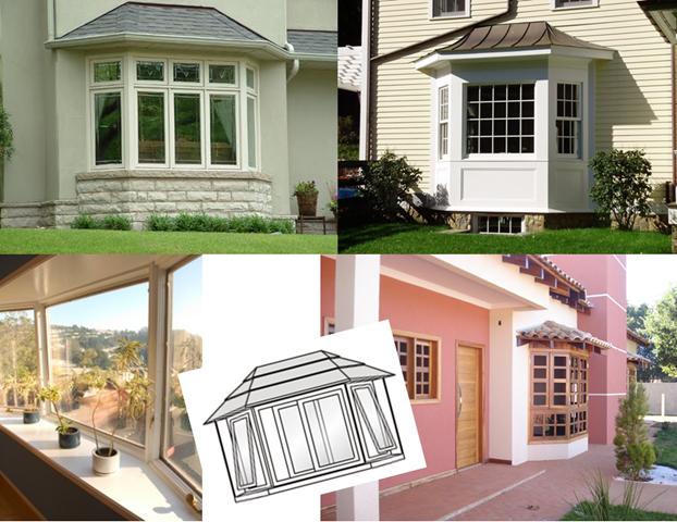 22- Modelos de janelas Bay Windows de madeira!