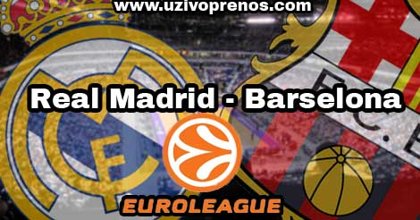 Real Madrid - Barselona UŽIVO PRENOS