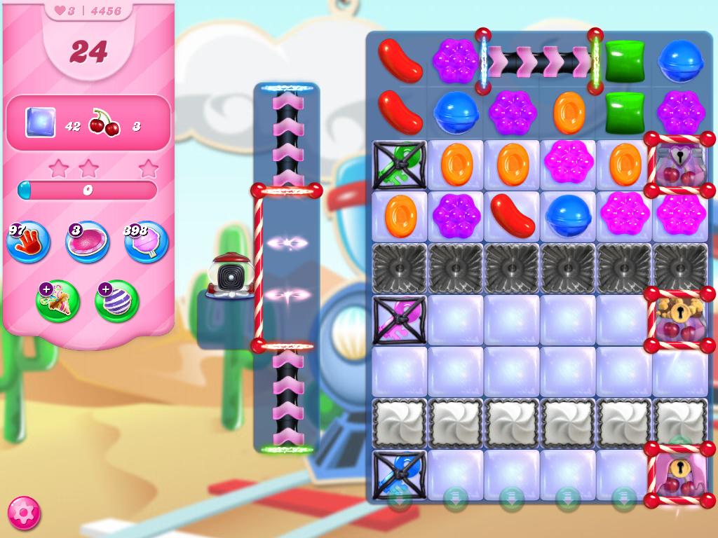 Candy Crush Saga level 4456