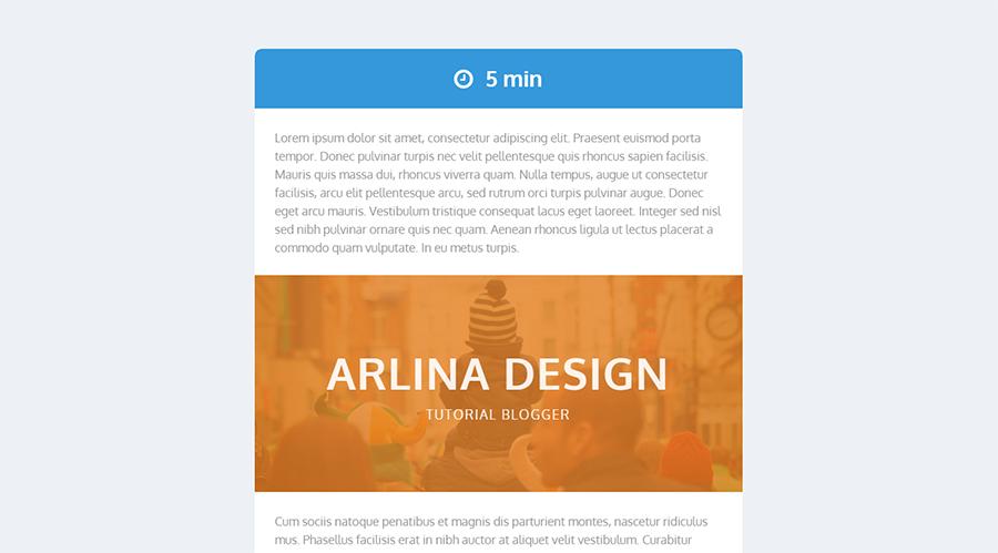 Menampilkan keterangan waktu dari artikel yang dibaca for Design artikel
