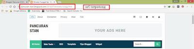 Cara Mengganti URL Link Postingan Blogspot Yang Sudah Dipublikasikan