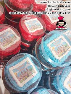 Mini Cake Souvenir Ulang Tahun Edible Image