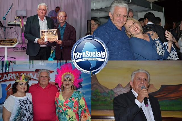 Da agropecuária ao poder executivo municipal, Arquimedes Guedes  Valença   continua recebendo homenagens de toda parte  pelos 71 anos de vida.
