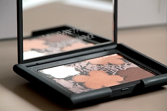 nars andy warhol collection maquillage noel 2012 palette fleurs n°3 test avis swatch