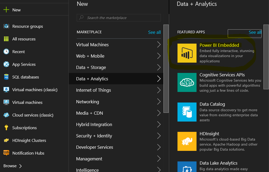 Mostafa's Blog: Power BI embedded step by step