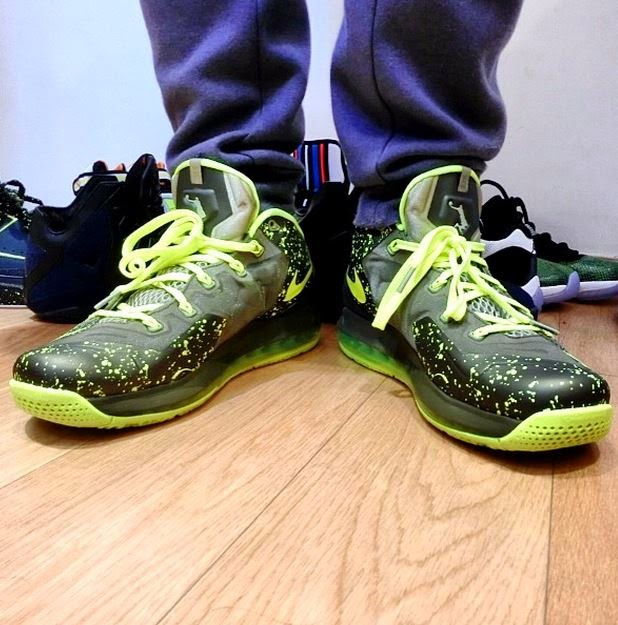 super popular 83160 baeb3 Here is a detailed look via Shoulee at the Nike Lebron 11 Dunkman Sneaker  On Foot, whats your thoughts  No release date yet but will keep you all  posted.