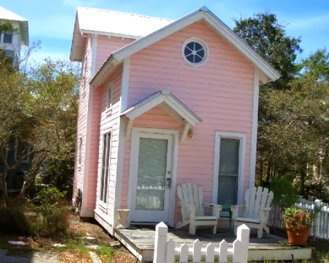 tiny house pink