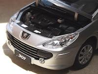 Peugeot 307 - Paudi Models 1/18 ( Die-cast)