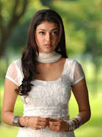 Kajal White Chudidhar Stills-cover-photo