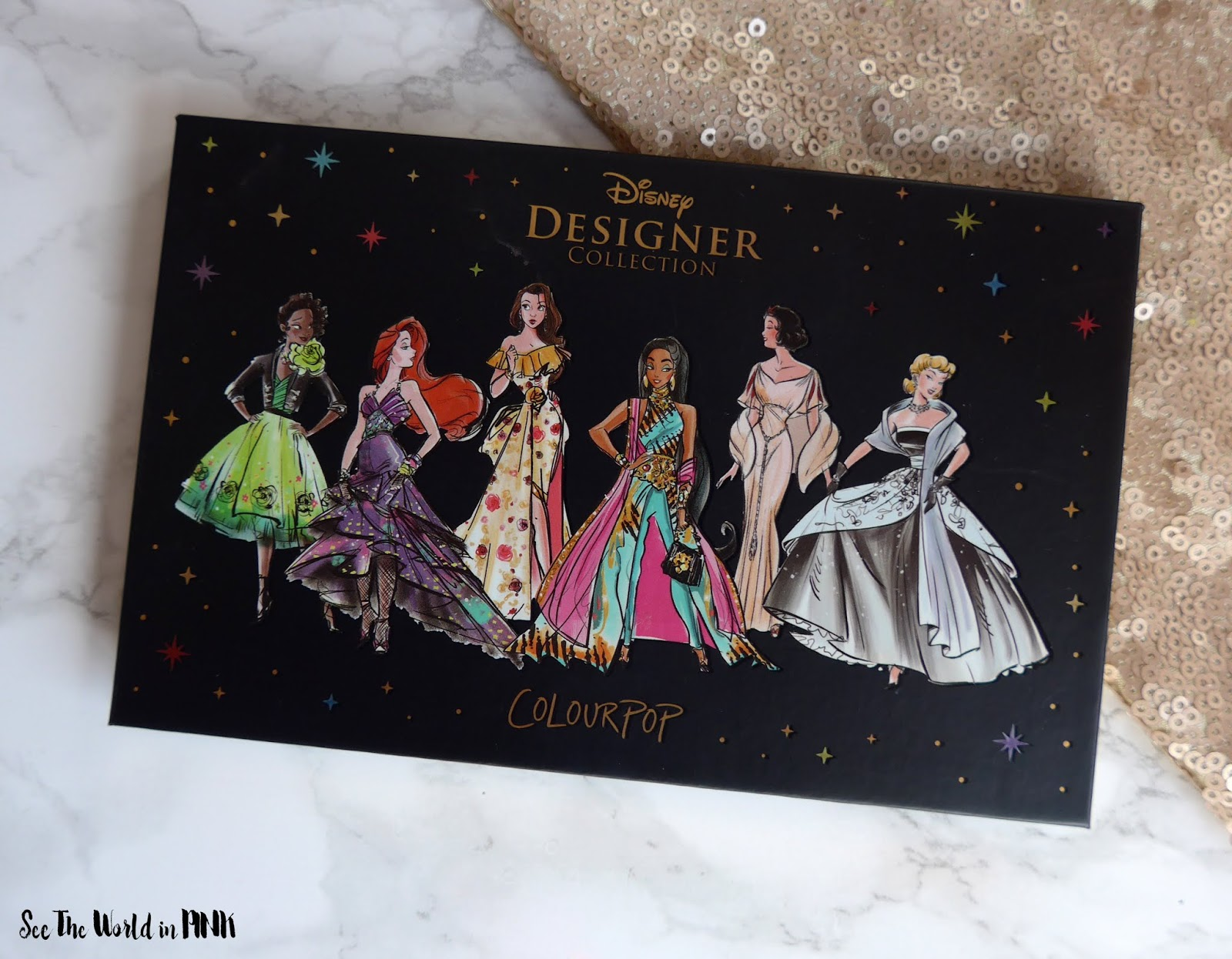 ColourPop Disney Designer Collection - Swatches, Try On, and Review!