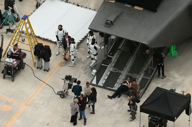 Fotos rodaje Star Wars: Rogue One