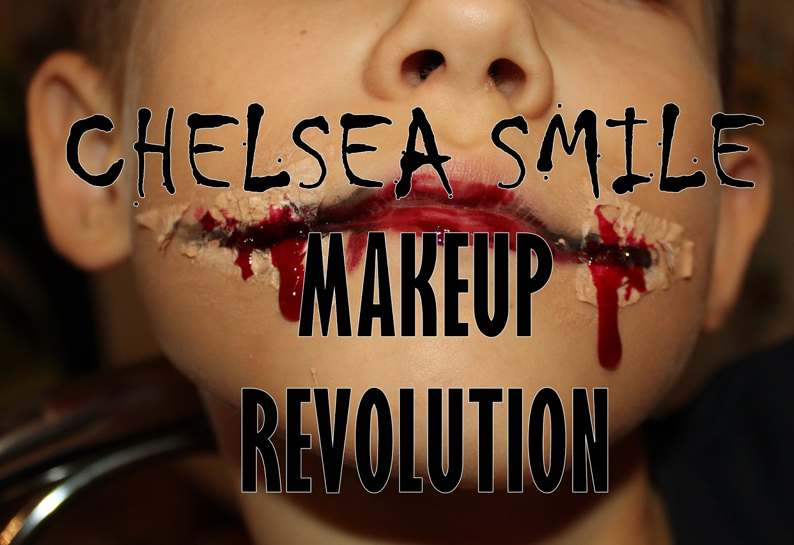 Makijaż na Halloween - Chelsea Smile - MAKEUP REVOLUTION
