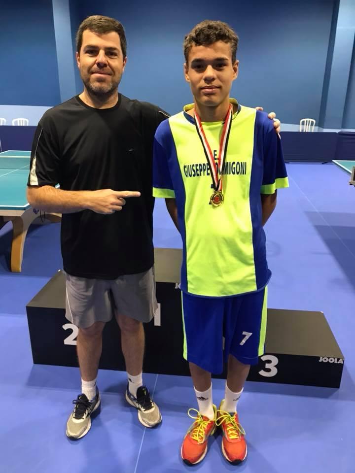 Jogos Escolares  Santaadeliense é campeão estadual no Tênis de Mesa ... df190662c3ac8